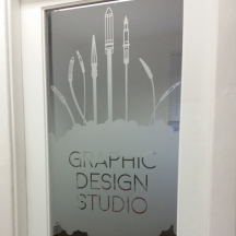 The Design Studio Door