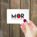 Mor Sreaming Business Card